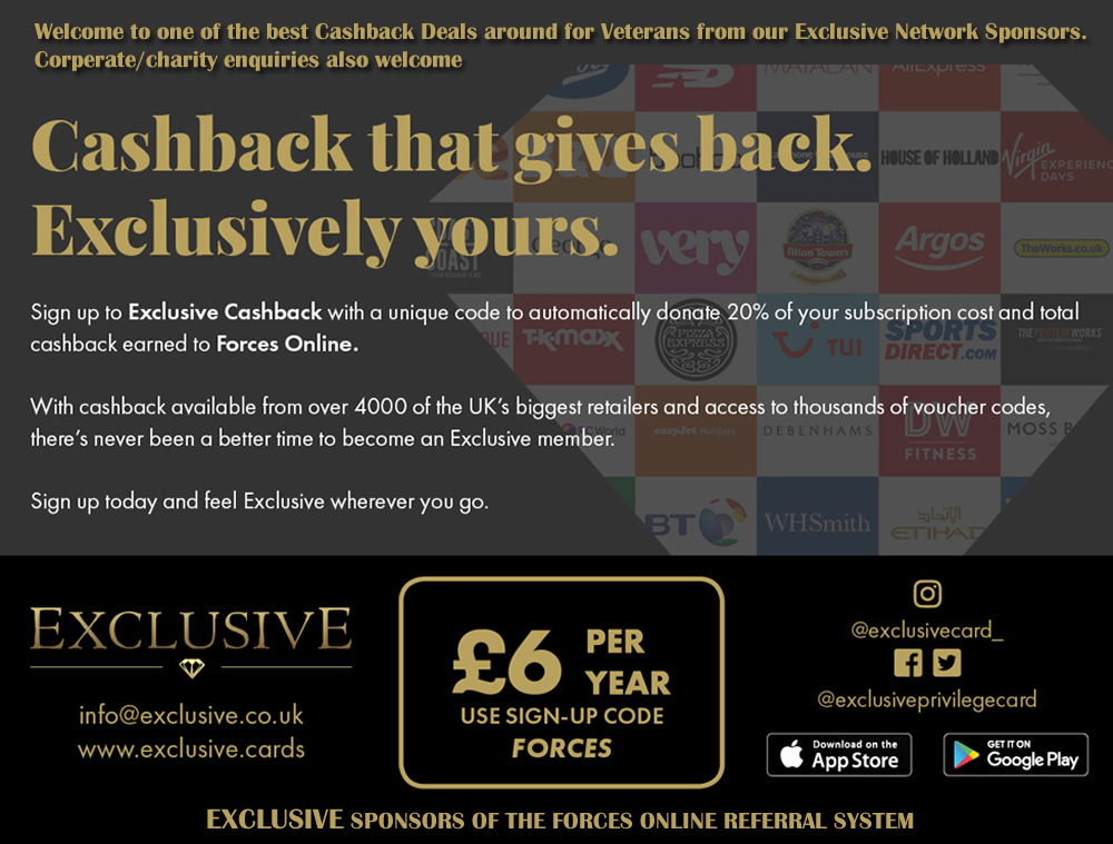 Exlusive Cards - Forces Online Sponsor