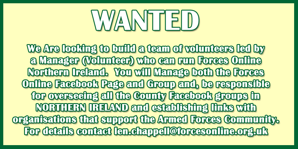 Forces Online Northern Ireland Manager